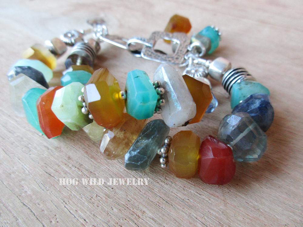 double multi stone bracelet c1